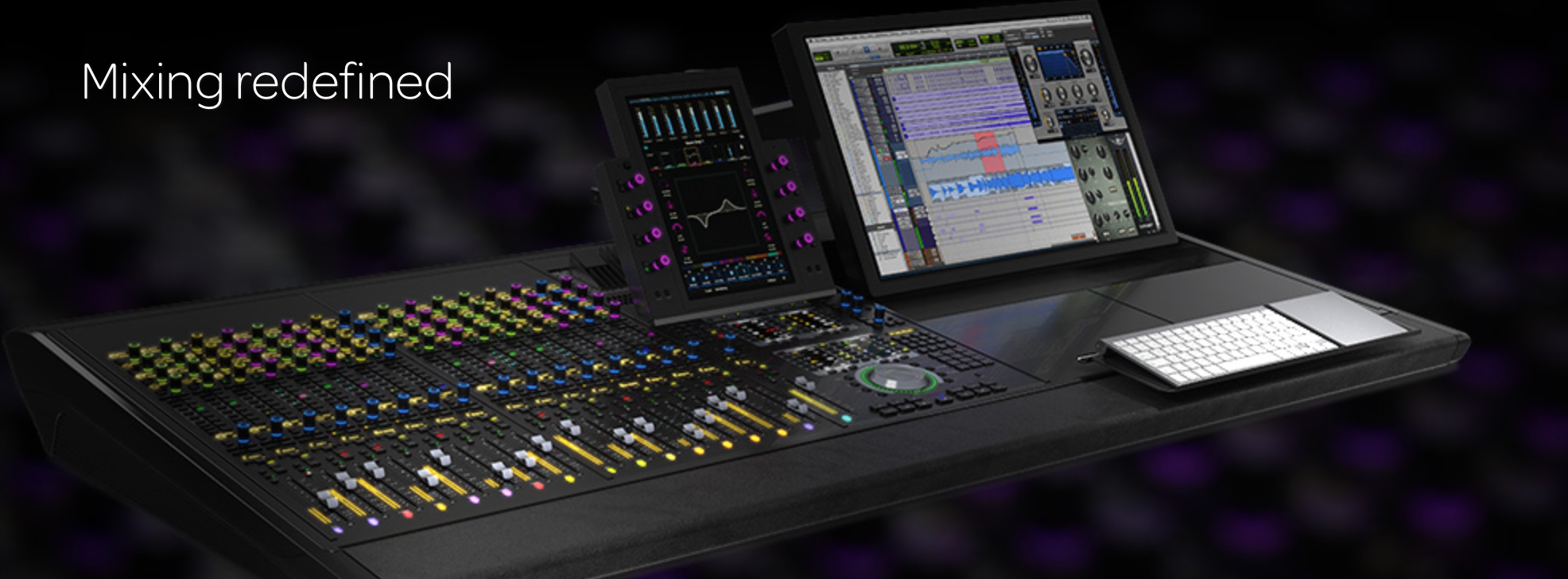 S6 Is The Future Of Post Production Console Berkat Digipro Solusi